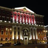 Tverskaya街 免版税库存照片