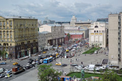Tverskaya ulica w Moskwa Obraz Stock