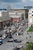 Tverskaya ulica w Moskwa Zdjęcia Stock