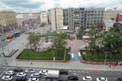 Tverskaya ulica w Moskwa Fotografia Stock