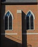 tvilling- fönster Royaltyfria Foton