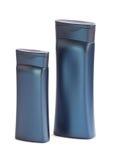 Tvilling- flaska för påfyllningsflytande Arkivfoto