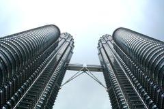 tvilling- Kuala Lumpur petronas torn royaltyfria bilder