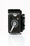 Tvilling- Lens reflexkamera royaltyfria bilder