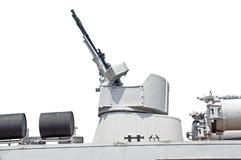 Tvilling- maskingevär Arkivbilder