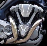 tvilling- motor Fotografering för Bildbyråer