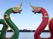 Tvilling- nagas Royaltyfri Foto