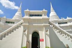 Tvilling- pagodas i Thailand Royaltyfri Fotografi