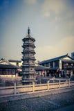 Tvilling- pagoder Royaltyfri Fotografi