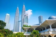 tvilling- petronas torn Royaltyfri Bild
