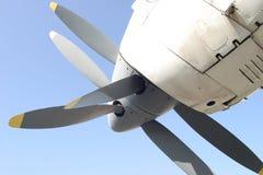 tvilling- propellerturbin Royaltyfri Foto