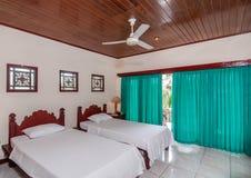 Tvilling- säng Royaltyfria Bilder