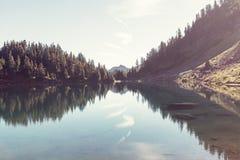 Tvilling- sjö fotografering för bildbyråer