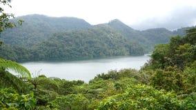 Tvilling- sjöar för nationell parc, Dumaguete, filippin royaltyfri fotografi