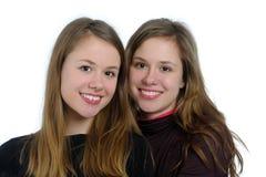 Tvilling- systrar Royaltyfria Bilder