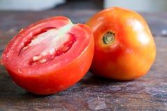 Tvilling- tomater Royaltyfri Fotografi
