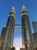 tvilling- torn Royaltyfri Bild