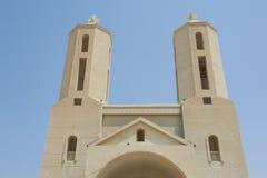 Tvillingbröder av den moderna coptic kristna kyrkan Royaltyfri Foto