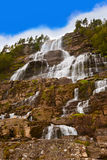 Tvinde Waterfall - Norway Royalty Free Stock Photography