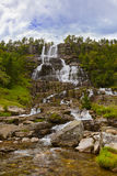 Tvinde Waterfall - Norway Stock Photography