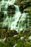Tvindefossen waterfall near Voss, Norway Royalty Free Stock Photo