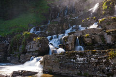 Tvindefossen waterfall, Norway Stock Images