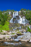 Tvindefossen waterfalls near Voss in Norway Royalty Free Stock Image