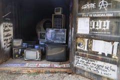 TVinstallation Royaltyfri Fotografi