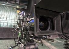 Tvkamera i en konserthall Royaltyfria Bilder