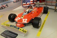 Tävlings- bil för Ferrari 312 T4 F1 formel en Royaltyfria Foton