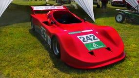 Tävlings- bilar för sportar Arkivfoto