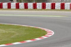 Tävlings- spår för motor Arkivfoto