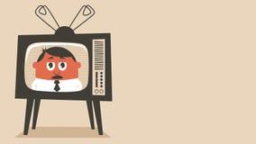 TVnyheterna stock illustrationer