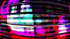 Tvoväsenvågor av den dåliga signalabstrakt begreppledaren Background stock video