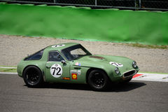 1965 TVR Griffith bij Monza-Kring Royalty-vrije Stock Foto