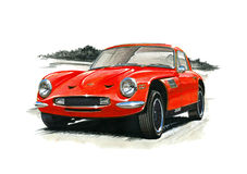 TVR 2500M Stock Photo