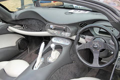 Tvr sports car interior Royalty Free Stock Image