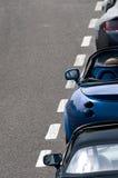 TVR Tamora en Griffith en Aston Martin Royalty-vrije Stock Foto's