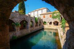 Tvrdalj Castle in Stari Grad, Hvar, Croatia