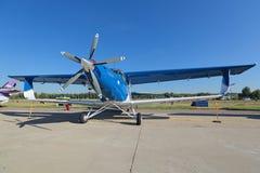 TVS-2DT samolot Obrazy Stock