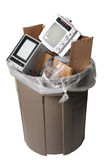 TVs in het afval Royalty-vrije Stock Fotografie