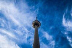 Tvtorn Berlin Arkivbild