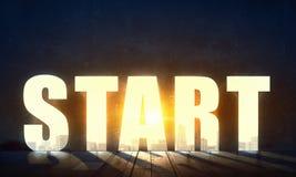 Twój biznesowa motywacja Mieszani środki zdjęcia stock