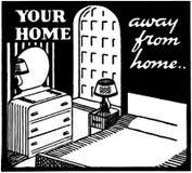 Twój dom Zdala od domu Fotografia Stock