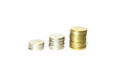 Twój moneta zostać złocistą Obraz Royalty Free