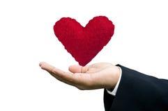 twój opieki serce Zdjęcie Stock