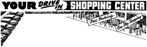 Twój przejażdżka W centrum handlowym Obrazy Stock