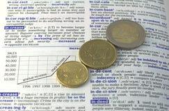twój przyrostowy pieniądze Obraz Stock