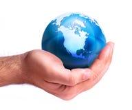 twój ręka świat obrazy royalty free