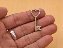 twój serce klucz Zdjęcie Royalty Free